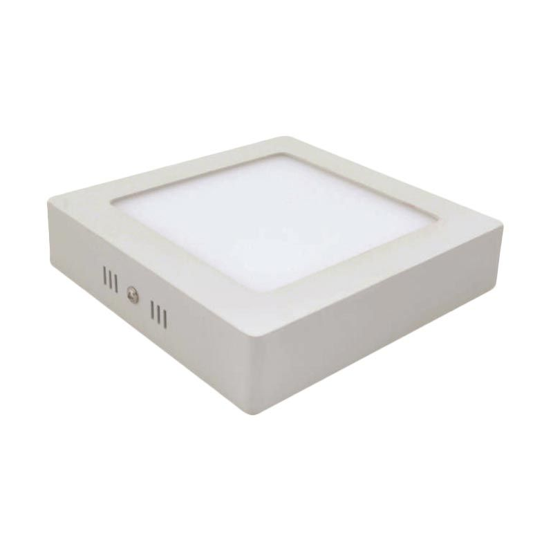 LED Square Tempel Natural White Downlight Panel Lampu [18 Watt]