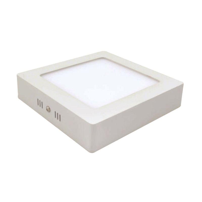 LED Square Tempel Warm White Downlight Panel Lampu [12 Watt]