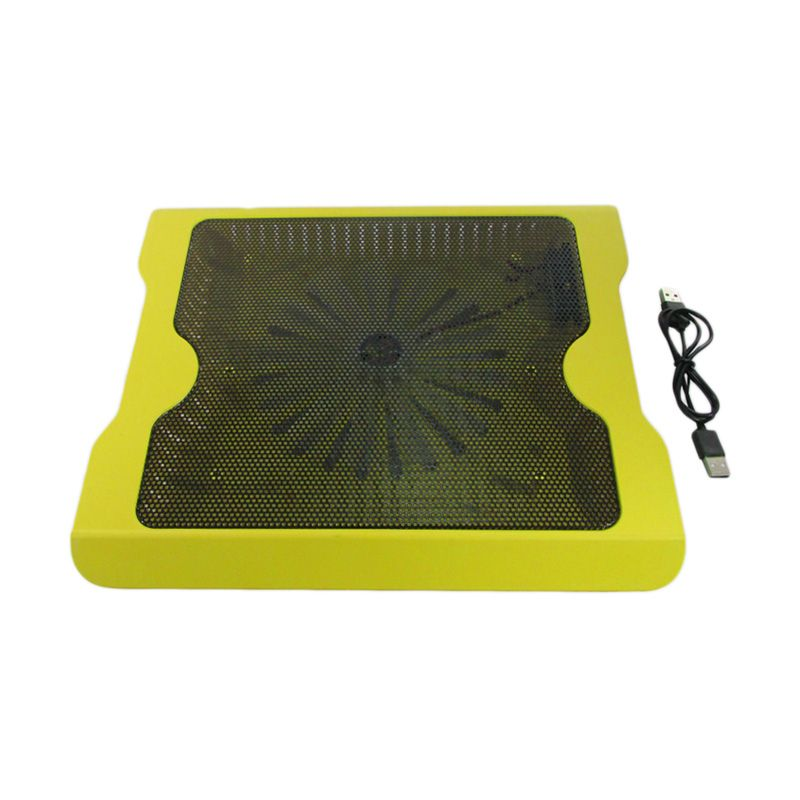 MID Big Fan Aluminium Kuning Cooling Pad