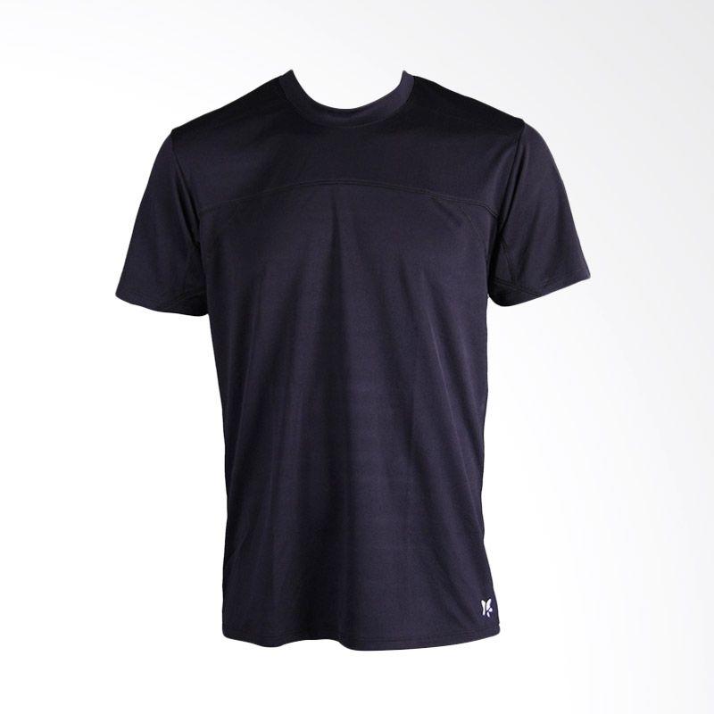 Lasona BM-A2907-M Black Baju Atasan Fitness Pria