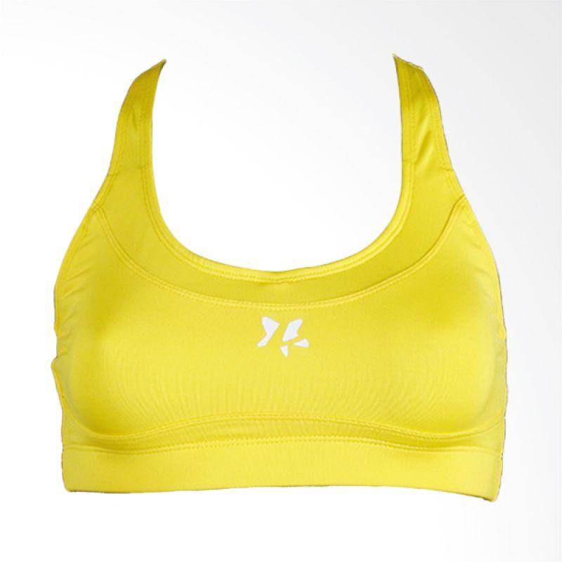Lasona BR-2862-E Yellow Bra Senam Wanita