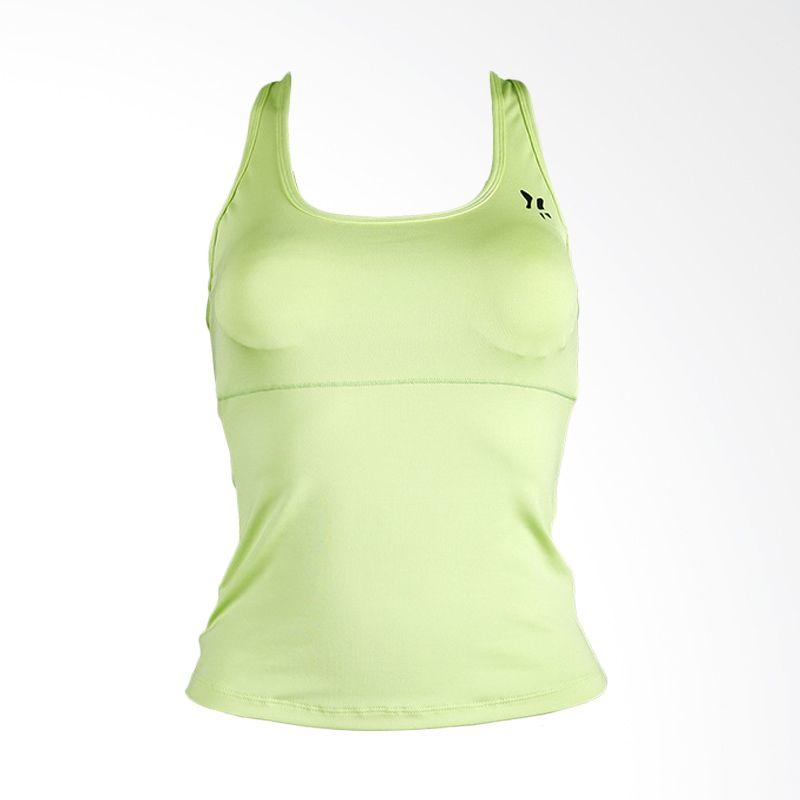 Lasona BRP-2484C-E Green15 Atasan Panjang Senam Wanita