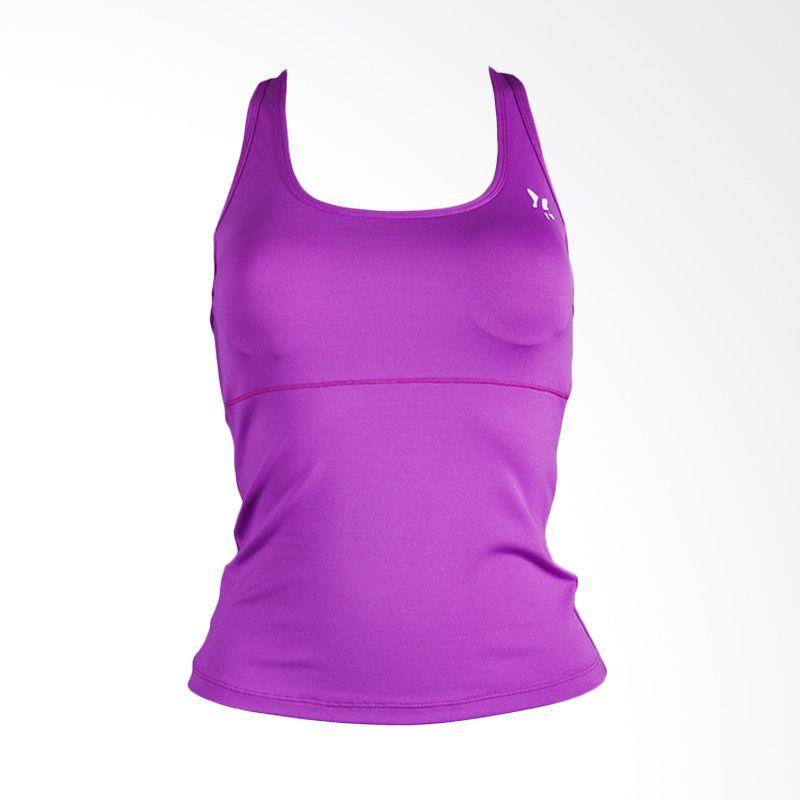 Lasona BRP-2484C-E Purple Atasan Panjang Senam Wanita