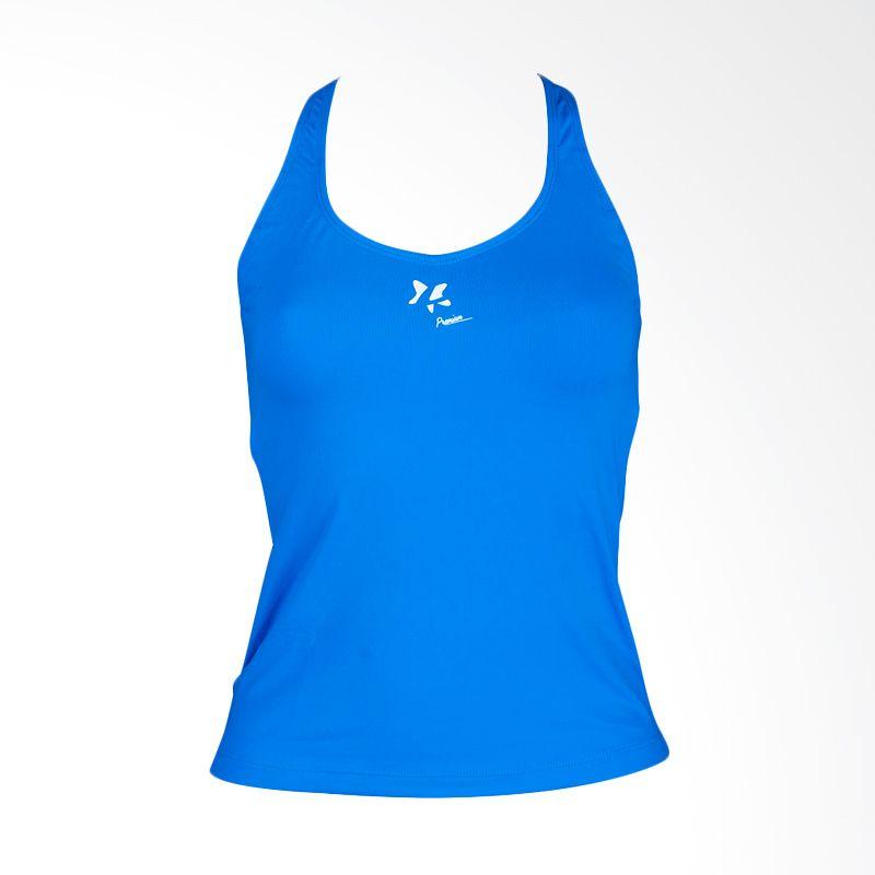 Lasona Premium BRP-2703-S 12 Blue Atasan Senam Wanita