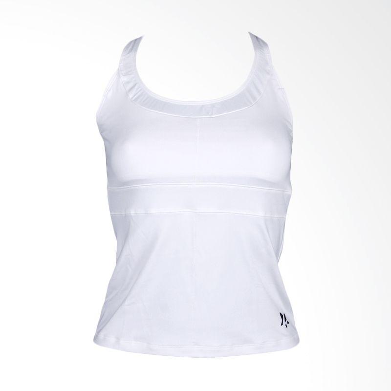 Lasona Premium BRP-2722-S White Atasan Senam Wanita