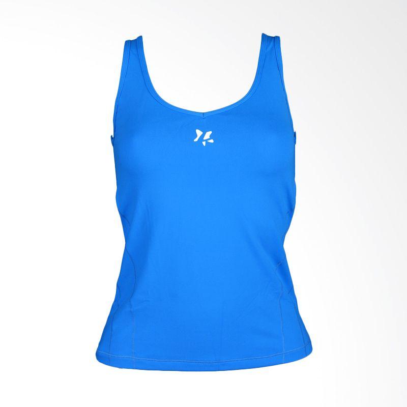 Lasona Premium BRP-2729-S 12 Blue Atasan Senam Wanita