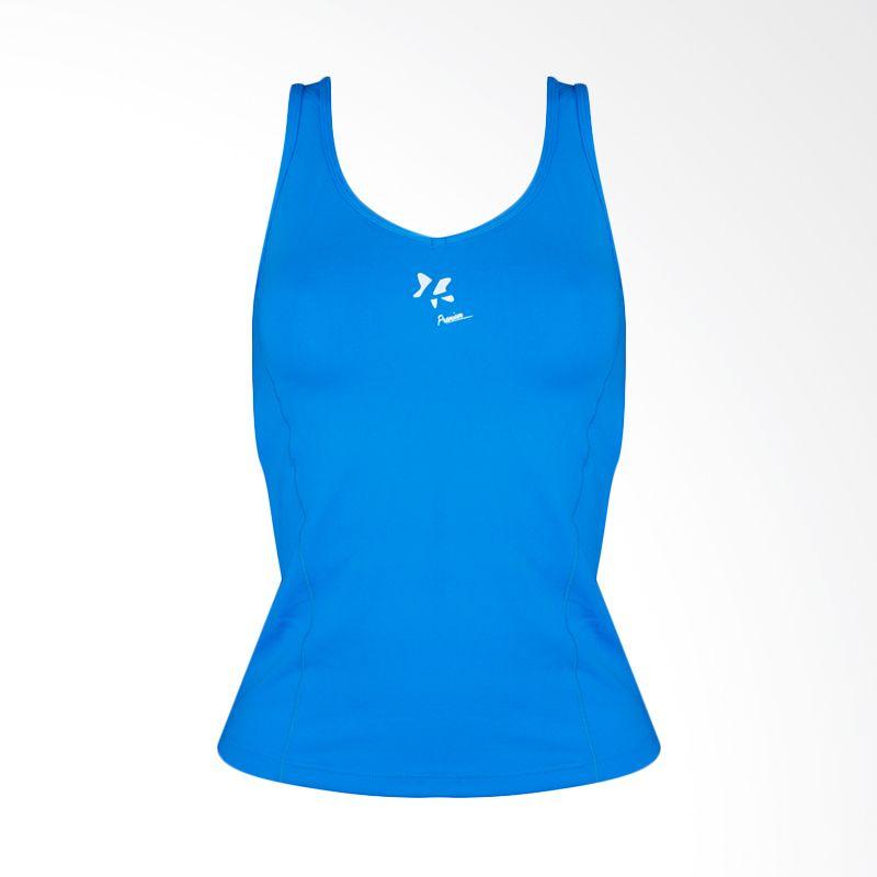Lasona Premium BRP-2731-S 12 Blue Atasan Senam Wanita