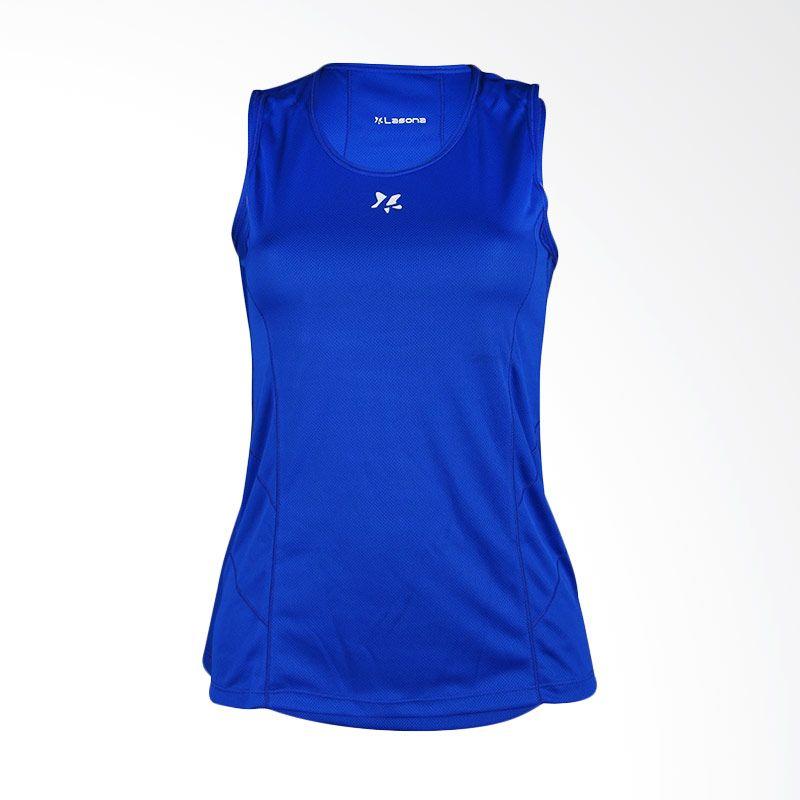 Lasona BRP-2749-M Blue Atasan Senam Wanita
