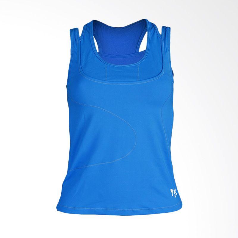 Lasona BRP-2755-S Blue12 Atasan Senam Wanita