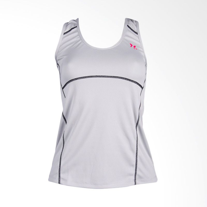 Lasona BRP-2766-M Light Grey Baju Senam Wanita