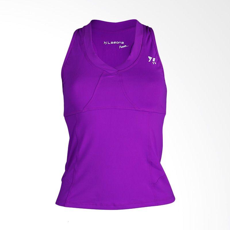 Lasona Premium BRP-2786-S 1 Dark Purple Baju Senam Wanita