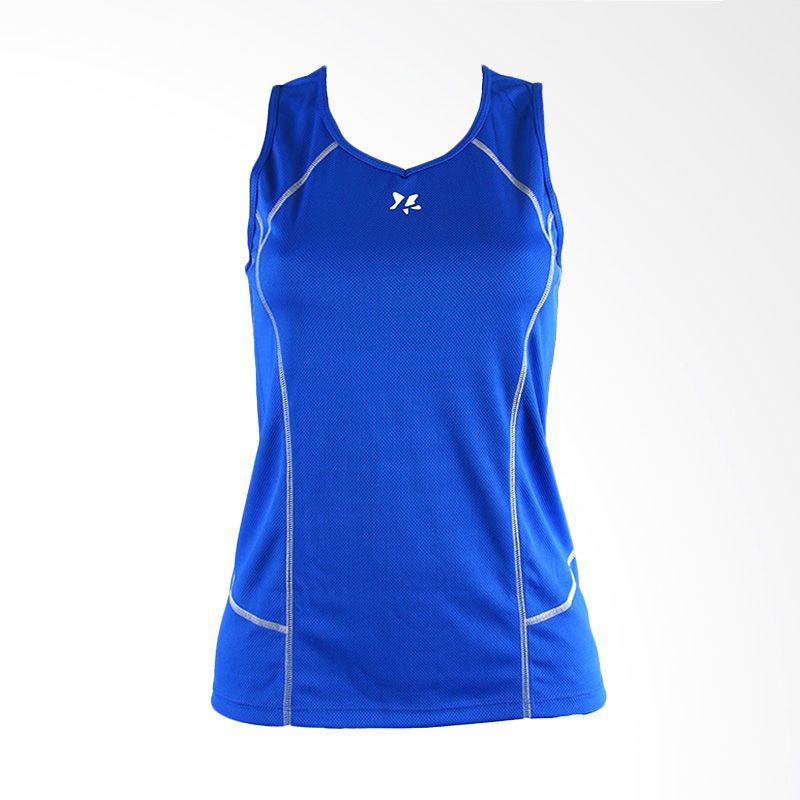 Lasona BRP-2819-M Blue Baju Senam Wanita