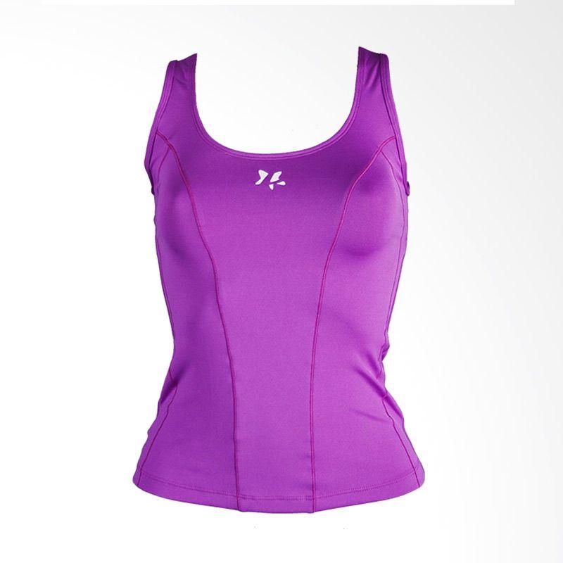 Lasona BRP-2985-E Purple Atasan Panjang Senam Wanita