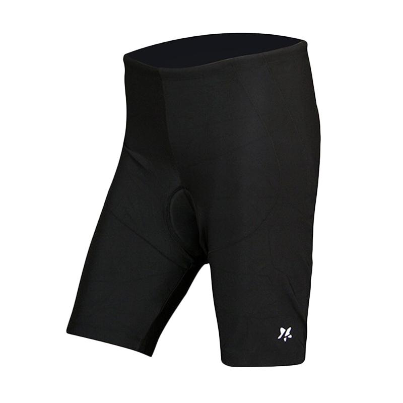Lasona Premium CS-P776H-L8 Celana Sepeda Pria dan Wanita - Black