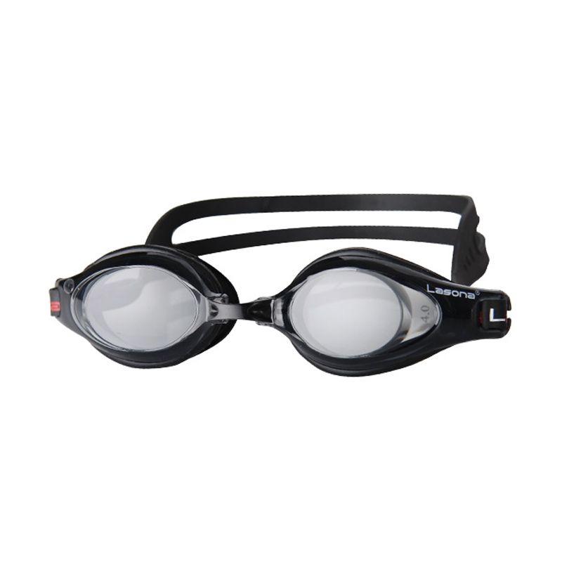 Lasona Optical KC-ZOOM2 Hitam Kacamata Renang [-3]