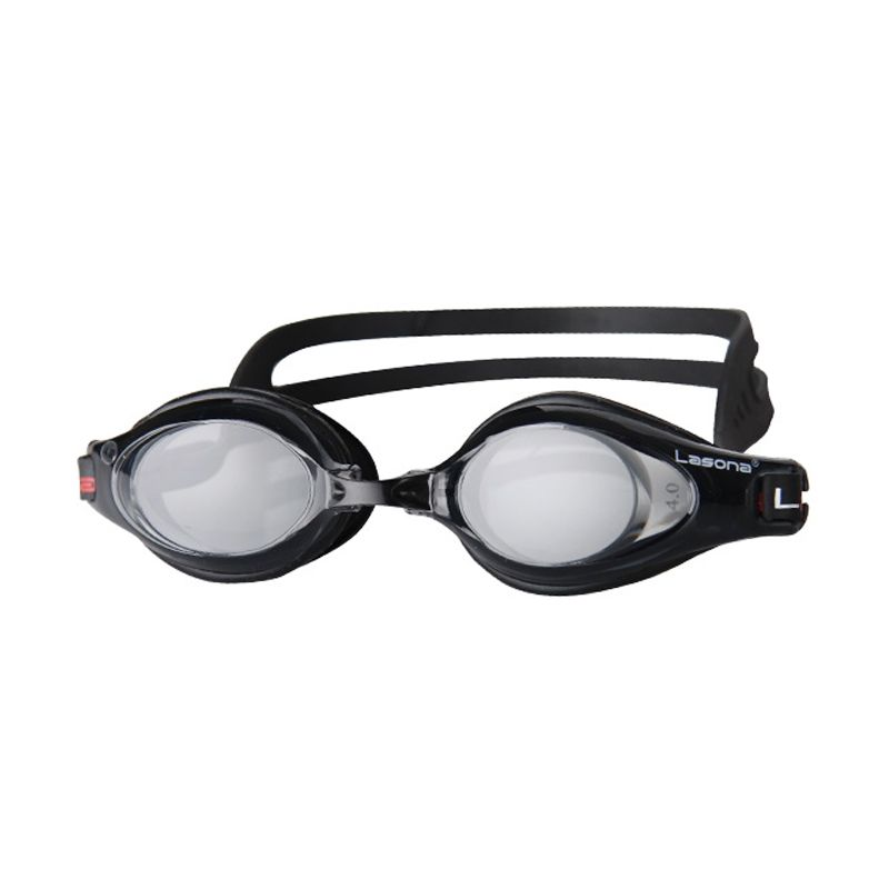 Lasona Optical KC-ZOOM2 Hitam Kacamata Renang [-4]