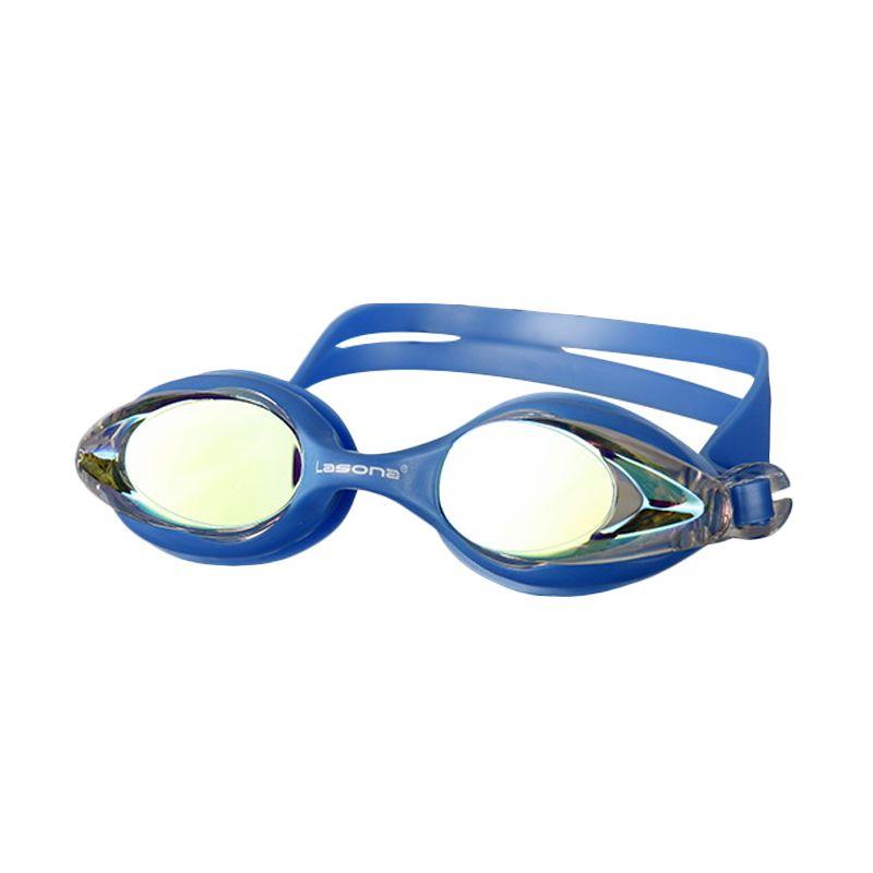 Lasona Penguin Irridium KCJ-PGN-I Blue Kacamata Renang Anak
