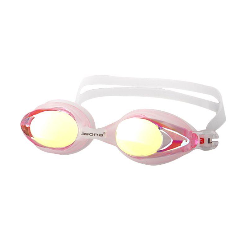 Lasona Penguin Irridium KCJ-PGN-I Pink14 Kacamata Renang Anak