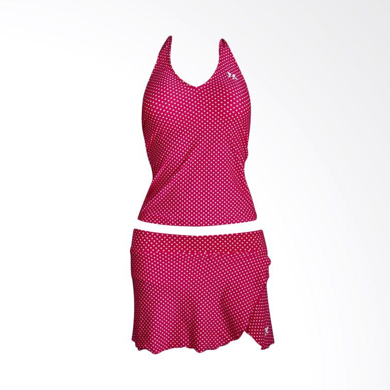Lasona SPR-1181J-HL0748 1 Dark Pink Setelan Renang Wanita