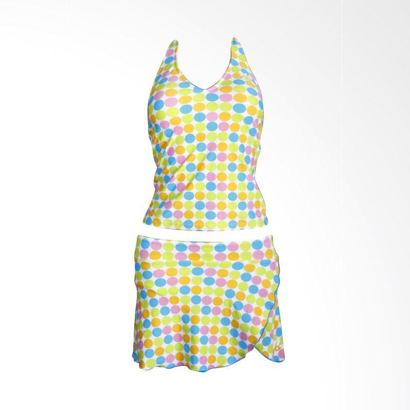 Lasona SPR-1181J-HL0983 2 Blue Setelan Renang Wanita