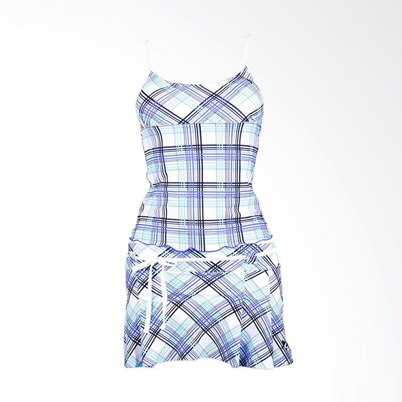 Lasona SPR-1877J-HL0975 4 Blue Setelan Renang Wanita