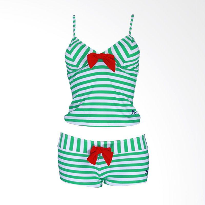 Lasona SPR-1955A-HL0758 Green Setelan Renang Wanita