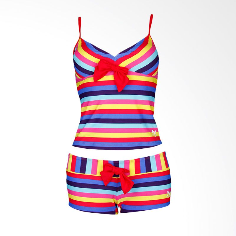 Lasona SPR-1955A-HL0997 Multicolor Setelan Renang Wanita