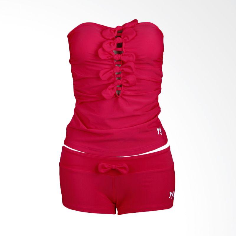 Lasona SPR-2992A-HL4 Red Setelan Renang Wanita