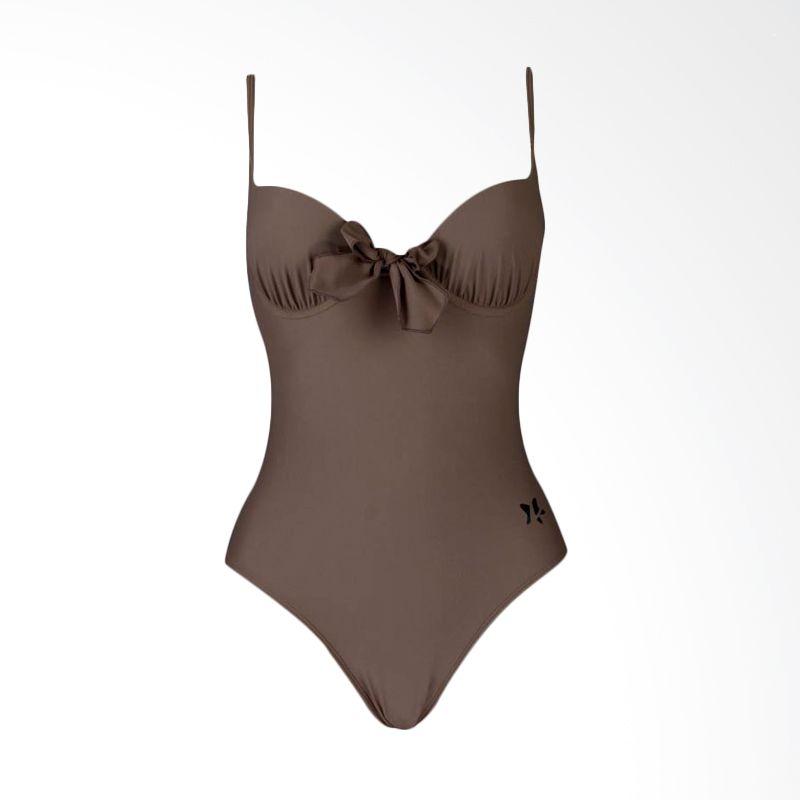 Lasona  Premium SW-2370-L4 3 Brown Baju Renang Wanita