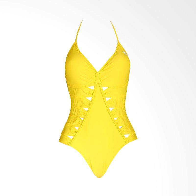 Lasona SW-2612-L4 Yellow Baju Renang Wanita