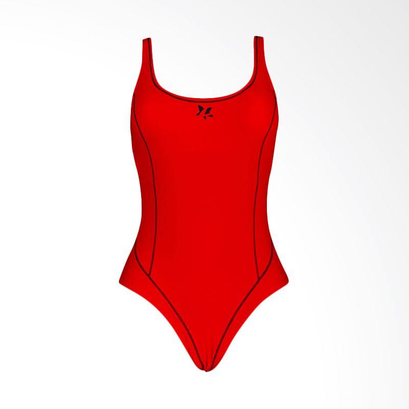 Lasona SW-2642-L4 Red Baju Renang Wanita