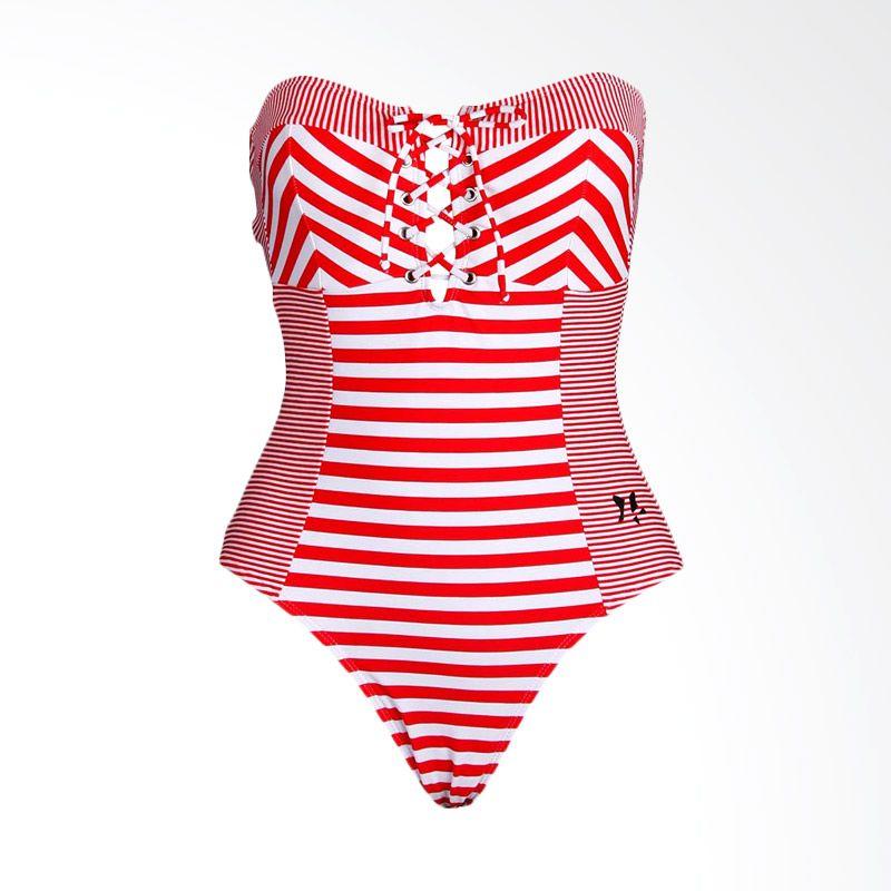 Lasona SW-2710-L0596 Red Baju Renang Wanita