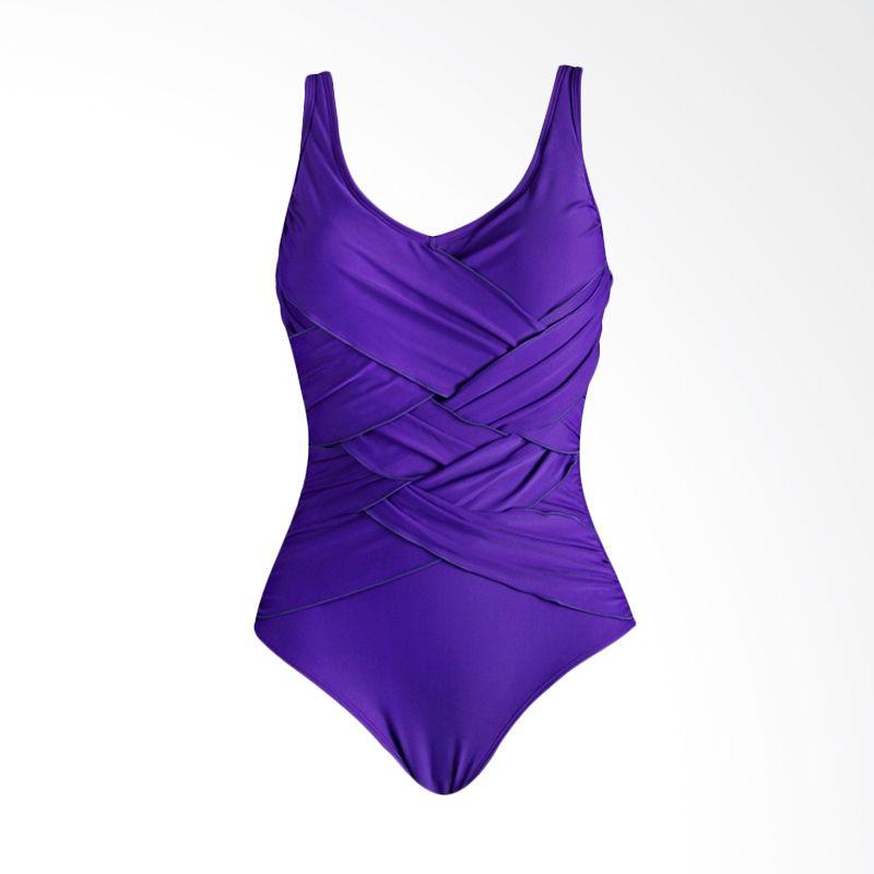 Lasona SW-2962-L4 2 Purple Baju Renang Wanita