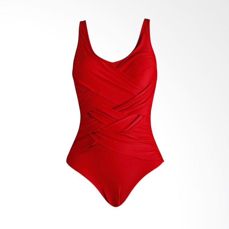 Lasona SW-2962-L4 1 Red Baju Renang Wanita