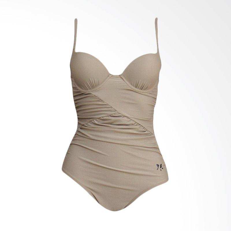 Lasona Premium SW-2999-L4 3 Brown Baju Renang Wanita