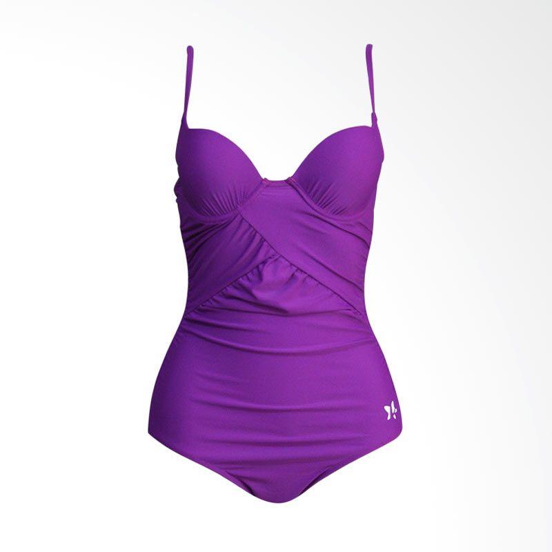 Lasona Premium SW-2999-L4 Purple Baju Renang Wanita