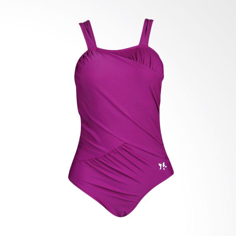 Lasona SW-3024-L4 Dark Purple Baju Renang Wanita