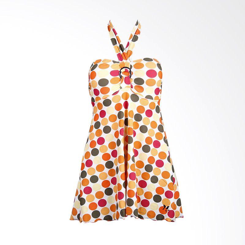 Lasona SWJ-2088-L0545 Orange Baju Renang Wanita