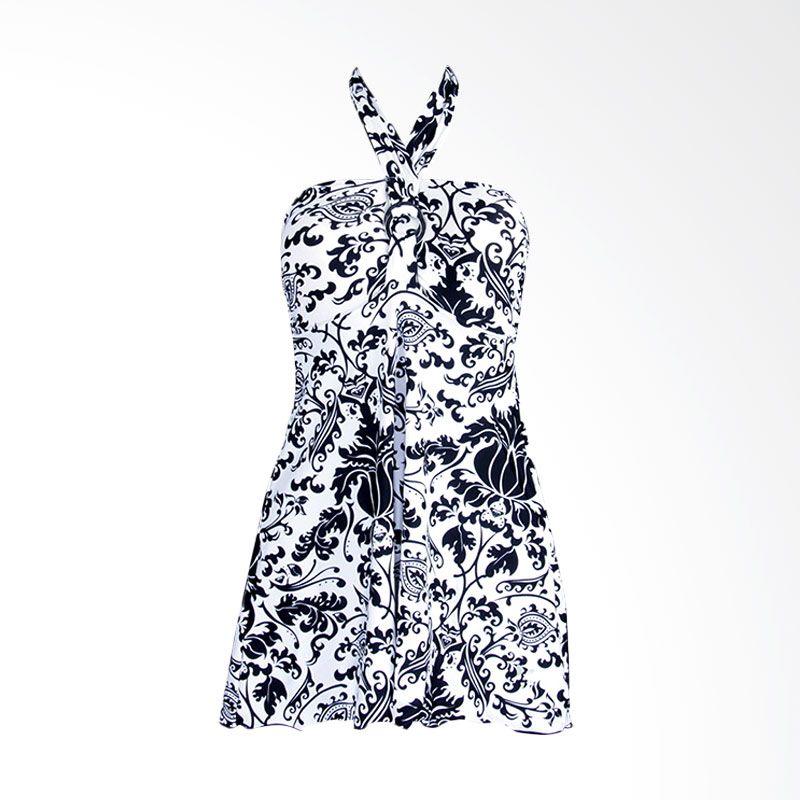 Lasona SWJ-2088-L0624 Black White Baju Renang Wanita