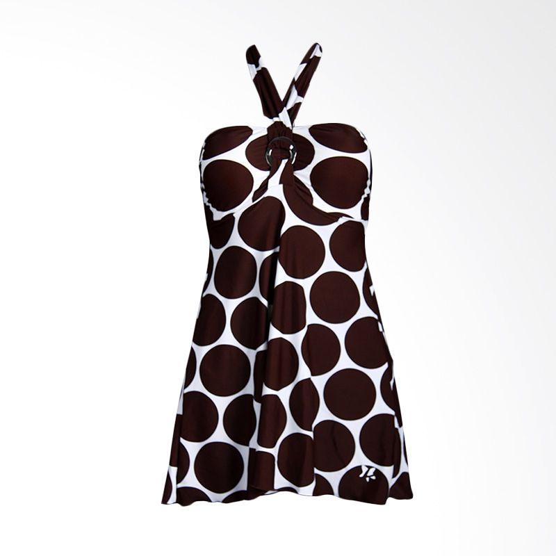 Lasona SWJ-2088-L0737 Dark Brown Baju Renang Wanita