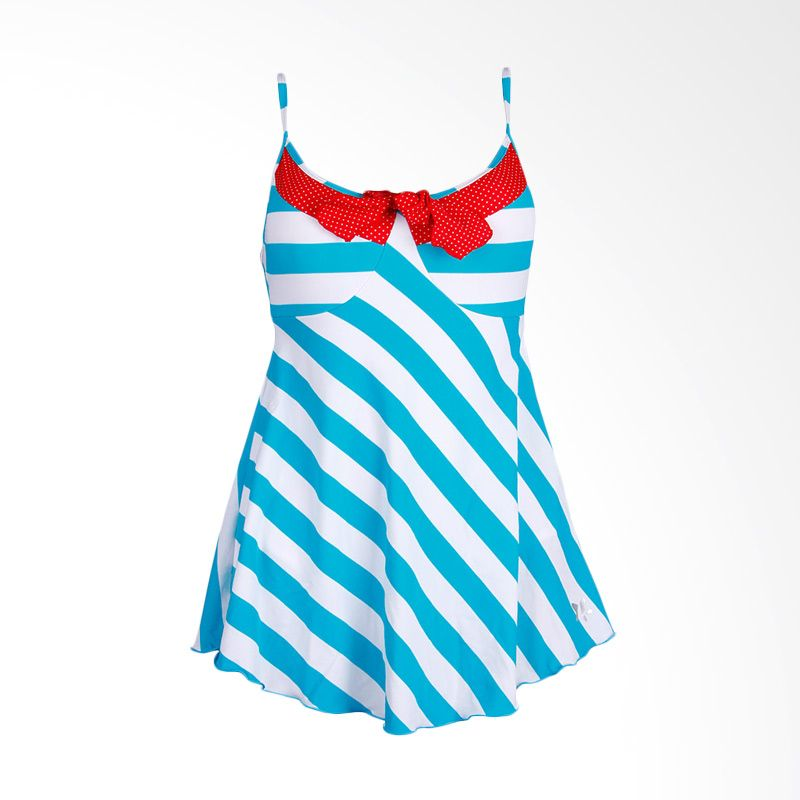 Lasona SWJ-2378-L01251 Blue Baju Renang Wanita