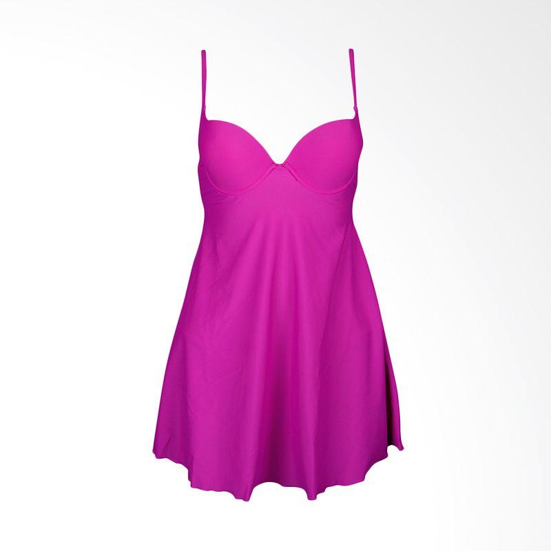 Lasona Premium SWJ-2566-L4 Purple Baju Renang Wanita