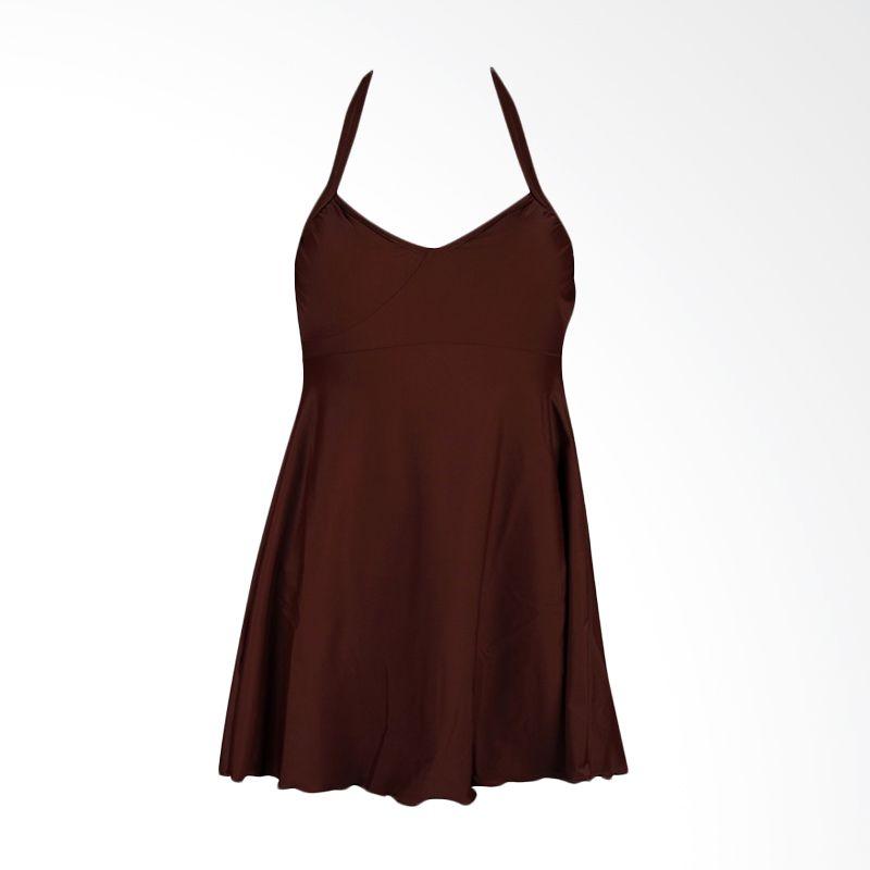 Lasona SWJ-2889-L4 Dark Brown Baju Renang Wanita