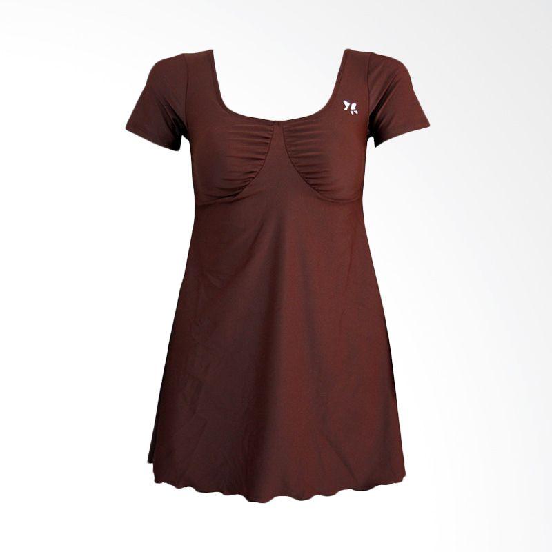 Lasona SWJ-A1286-L4X Dark Brown Baju Renang Wanita