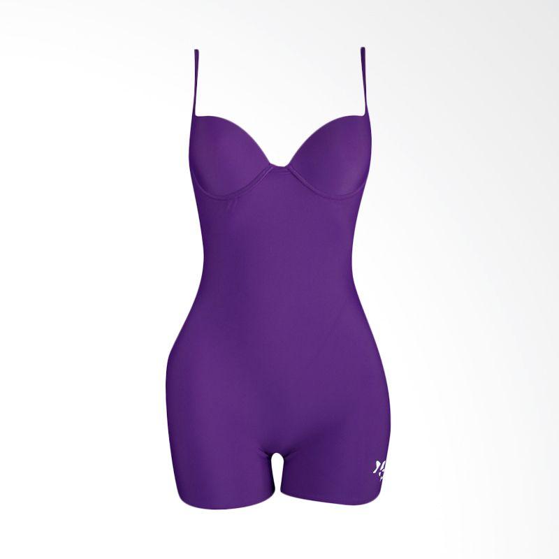 Lasona Premium TRD-2566-L4 9 Purple Baju Renang Wanita