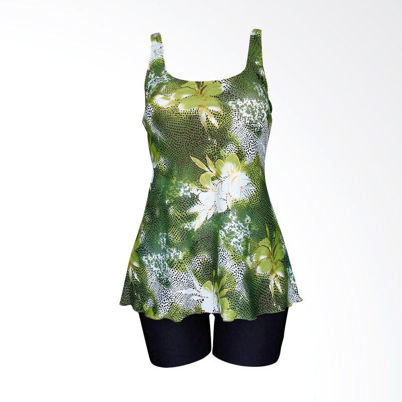 Lasona TRDP-2438J-L01488 Green Baju Renang Wanita