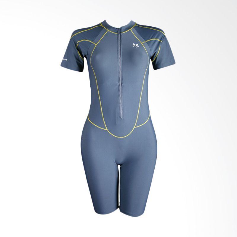 Lasona Diving TRJ-A2893-L4 Dark Grey Baju Renang Wanita