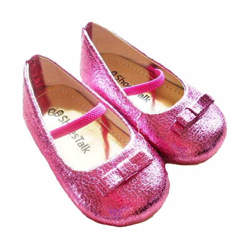 ShoesTalk - Charlotte Fuschia Sepatu Anak