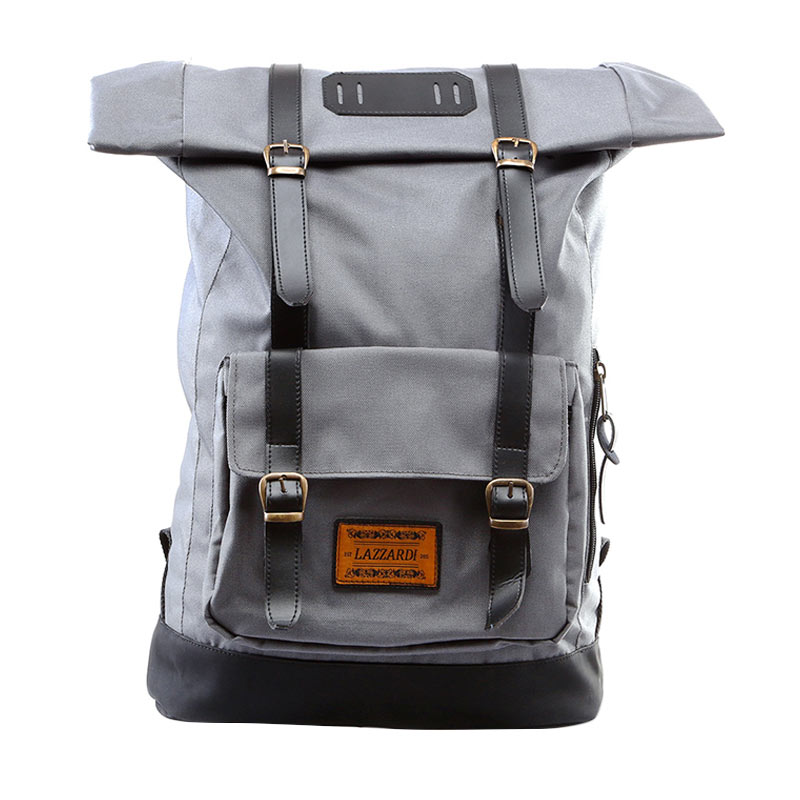 SCB-Lazzardi Frandeur Grey Backpack
