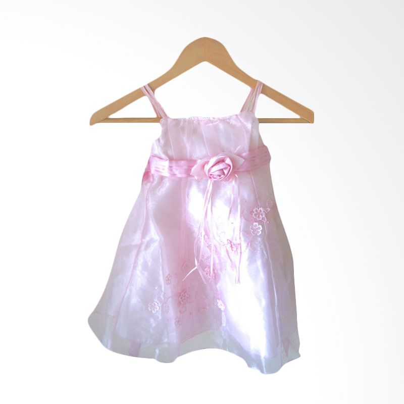 Le Tiny Bunny Pink Floral Dress
